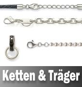 Ketten, Bänder und Träger