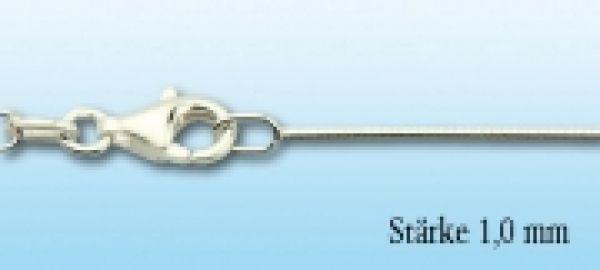 Omegareif Silber, 1,0mm stark