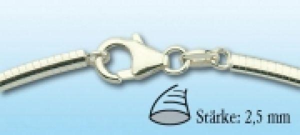 Omegareif Silber, 2,5mm stark