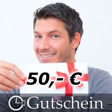 Geschenkgutschein 50,- Euro