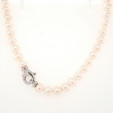 Perlenkette Süßwasserzuchtperlen