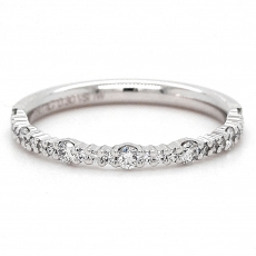 Diamantring, 585 Weißgold mit Brillanten 0,15ct