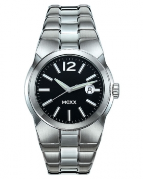 Mexx Herrenarmbanduhr Origin black