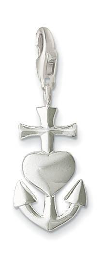 Thomas Sabo Charm Club Anhänger Glaube, Liebe, Hoffnung