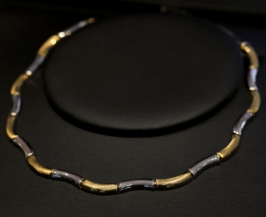 Collier, 333 Gold Bicolor