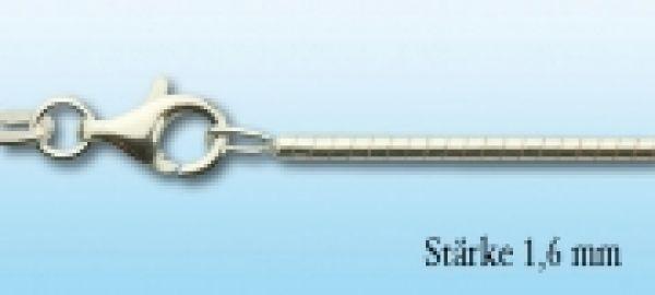 Omegareif Silber, 1,6mm stark