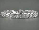 Armband Panzermuster, Silber 925