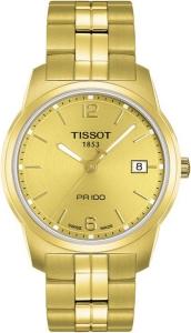 Tissot PR100 Gent goldfarben