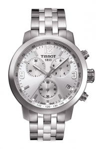 Tissot Chronograph PRC200, Stahlband