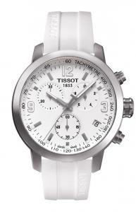 Tissot Chronograph PRC200, Silikonband