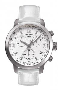 Tissot Chronograph PRC200, Lederband