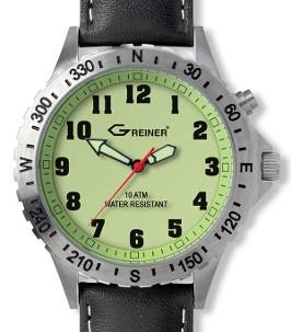 Greiner Ansitz-Uhr 1209-N