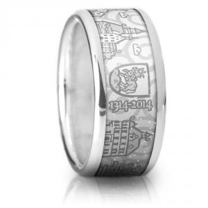 Auerbach Ring weiss