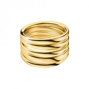 Calvin Klein sumptuous Ring gelb