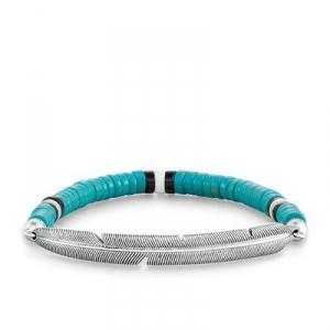 Love Bridge Armband Ethno Feder