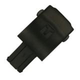 Tissot Original Faltschließe schwarz, für Kautschukbänder