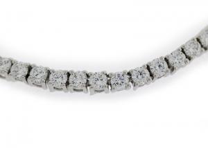 Tennisarmband, Silber 925 mit Zirkonia