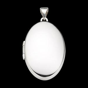 Anhänger Medaillon 26mm in 925 Silber
