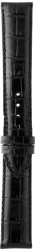 Tissot Original Lederband schwarz für T019430B