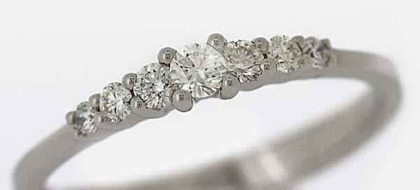 Diamantring, 585 Weißgold mit Brillanten 0,25ct
