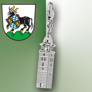 Charmanhänger Auerbacher Kirchturm