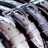 Lederband für Armbanduhren