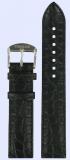 Tissot Originalband Leder schwarz mit Dornschließe