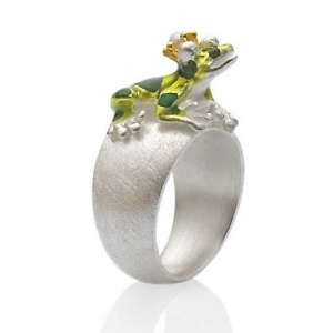 Drachenfels Design, Ring Giftpfeilfroschkönig6