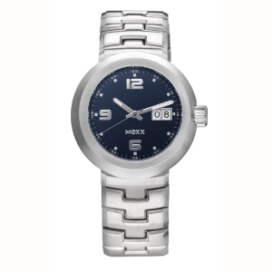 Mexx Herrenarmbanduhr Swing Metal Blue